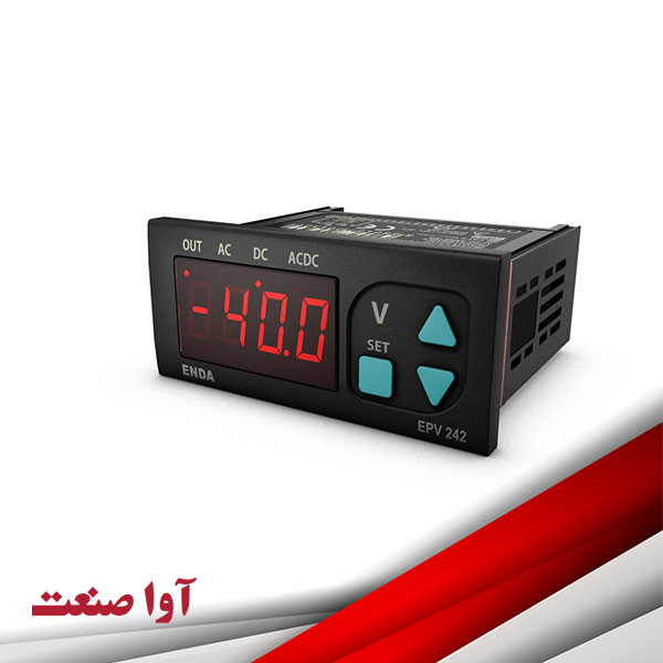 نمایشگر آمپرمتر ولتمتر اندا کد EPV242