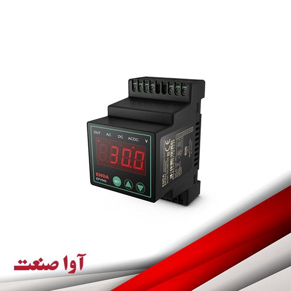 نمایشگر آمپرمتر ولتمتر اندا کد EPV542