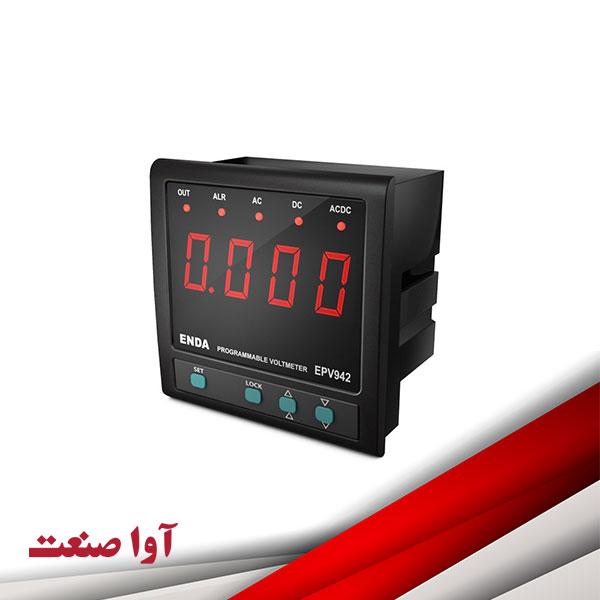 نمایشگر آمپرمتر ولتمتر اندا کد EPV942