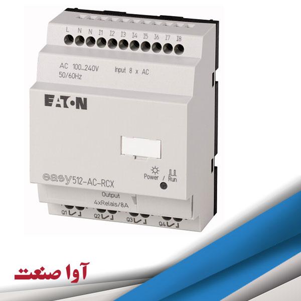 پی ال سی مدل EASY512-AC-RCX ایتون