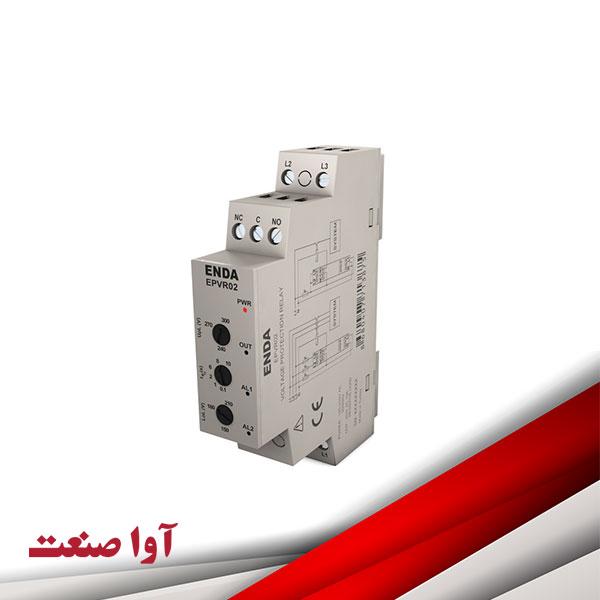 کنترلر فاز و کنترل جریان اندا EPVR02