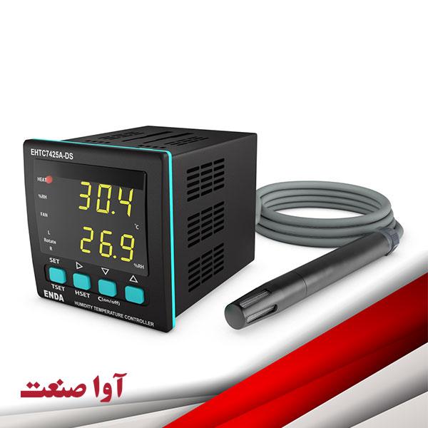 کنترلر رطوبت دما مدل EHTC7425A-DS اندا